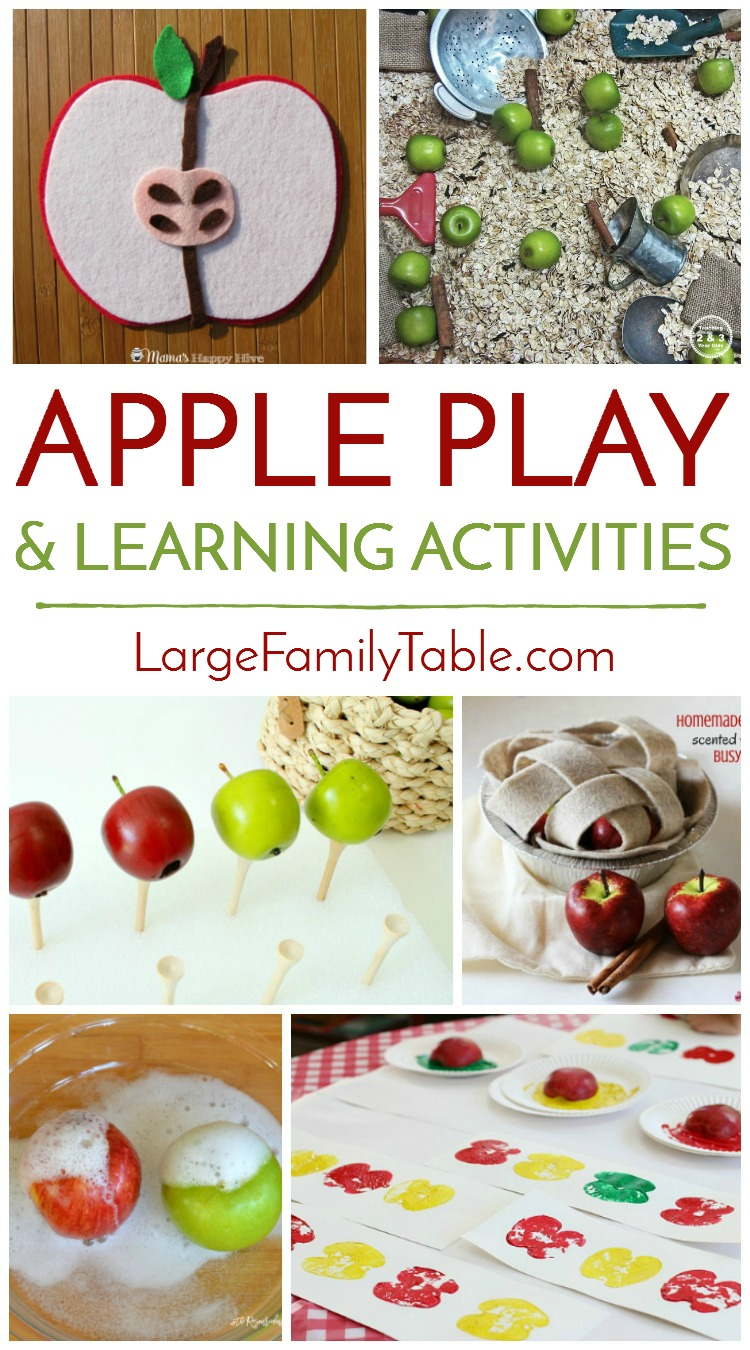 Apple Play & Learning Activities